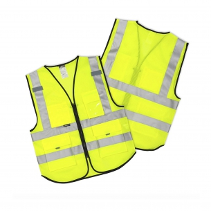Reflective vests and harness for adults